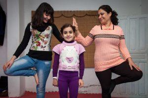 2014 November—Amman, Jordan. CRP yoga class.